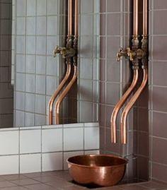 Idea for Steam Punk bathroom