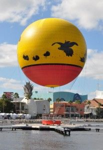 Original Characters in Flight at Downtown #Disney.