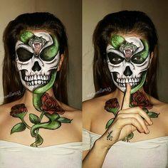 Makeup Ideas for Halloween Makeup by @sabrinamillar123