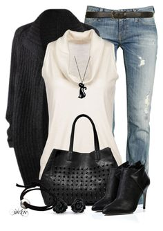 """""""Sergio Rossi Boots"""" by jackie22 ❤ liked on Polyvore featuring American Vintage, Cruciani, Steve Madden, Sergio Rossi, Dorothy Perkins, cardigan, CasualChic, SteveMadden, SergioRossi and slimfitjeans"""