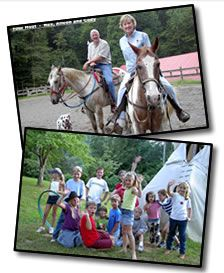 Great family vacation at Clear Creek Dude Ranch near Asheville, NC