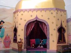 Princess Jasmine Birthday Party backdrop