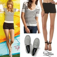 taylor swift in casual clothes | taylor swift for keds photo bravehearts com