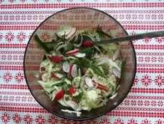 Sałatki z kopru włoskiego - Salads of fennel | Tapas de Colores