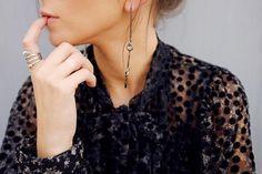 #eshvi #latestjewellery #jewelry #farfetch #love #fashion #photooftheday #london #venus #venusearring #silver #earring #fall