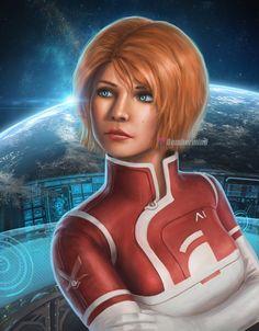 Dr.Suvi Anwar  Mass Effect : Andromeda