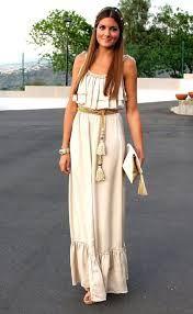 Resultado de imagen para vestido largo de verano