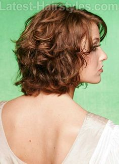 13 Best Short Layered Curly Hair | http://www.short-haircut.com/13-best-short-layered-curly-hair.html