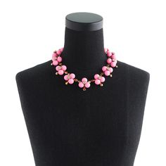 Pop flower necklace : Jewelry Shop | J.Crew