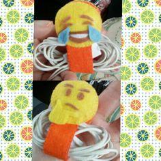 Porta cuffie emoticon :)