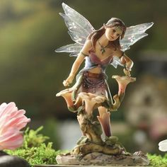 Fairy Glen MystiBeat Fairy Figurine #fairygarden #factorydirectcraft