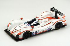 The Spark 1/18 Zytek Nissan Greaves Motorsport No.41, Le Mans Winner 2011, is a diecast/resin model car in 1/18 scale, from this fantastic diecast model manufacturer.    This is a diecast model of the Le Mans 2011 winning car drivien by K. Ojjeh, T. Kimber-SMith and O. Lombard.    Spark manufacture wonderful, amazingly accurate and detailed diecast models of all sorts of cars, particularly road cars including this model of the Zytek Nissan Greaves Motorsport No.41, Le Mans Winner 2011