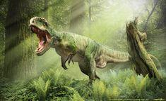 Giganotosaurus (dinosaurio terópodo del Cretácico, 96MA) (Damir G.Martin)