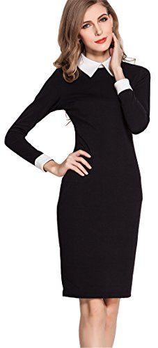 Homeyee® Women's Elegant Formal Career Pencil Dress U751 (M, black) HOMEYEE http://www.amazon.com/dp/B00T79E21I/ref=cm_sw_r_pi_dp_deY5wb14MZNDZ
