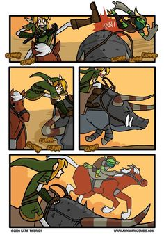 Great, it took you forever to calm her down and they got right back on -_- great job Link