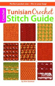 Title: Tunisian Crochet Stitch Guide, Author: Kim Guzman