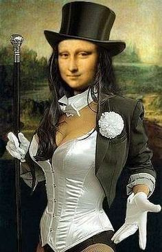Altered Mona, Art Mona, Humour Monalisa, Mona Lisa, Aa Mona, Monalisas Divertidas, Monalisa Mix