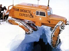 Tucker Sno-Cat Commonwealth Trans - Antarctic Expedition 1957 - Page 2 Cool Trucks, Big Trucks, Cool Cars, Snow Crash, Snow Vehicles, Snow Machine, Terrain Vehicle, Custom Trucks, Heavy Equipment