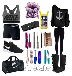 """Before/after"" by grace-hobson on Polyvore"