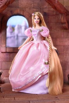 Rapunzel Barbie® Doll | Barbie Collector..24..3 qw