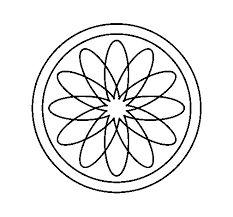 Resultado de imagen para dibujos de mandalas para mosaiquismo