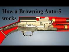 How a Browning Auto-5 works - YouTube