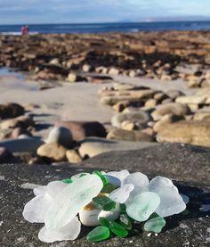 The joy of sea glass - North Coast 500 Scotland Beach, Broken Bottle, North Coast 500, Sea Glass Beach, Glass Photo, The Good Place, Joy, Fossils, Geology
