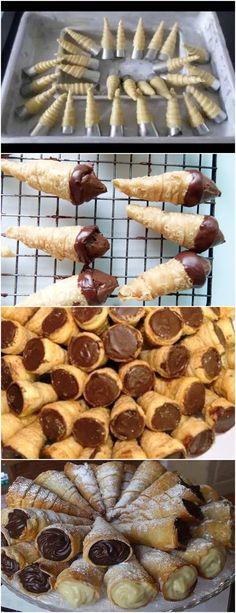 O canudinho é outra guloseima que agrada a todos – tanto os pequenos quanto os adultos vão querer saborear esta versão recheada com chocolate! VEJA AQUI>>>No liquidificador bata o leite, o óleo, os ovos e o fermento esfarelado. Reserve. Em uma tigela, coloque a farinha, o açúcar e o sal. Aos poucos acrescente a mistura do liquidificado #receita#bolo#torta#doce#sobremesa#aniversario#pudim#mousse#pave#Cheesecake#chocolate#confeitaria