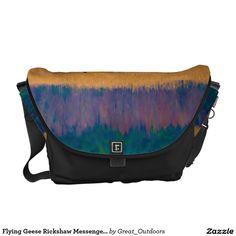 Flying Geese Rickshaw Messenger Bag