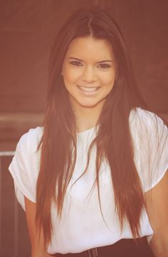 I think she is the prettiest Kardashian/Genner. Her hair is just gorgeous.