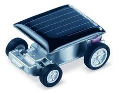 LanLan Solar Car - World's Smallest Solar Powered Car - Educational Solar Powered Toy *** Click here for more details @