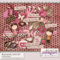 $3.99 Romantic Mini Kit by Mirelle Candeloro - PU/S4H/S4O ok