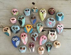 Art Bead Scene Blog: Inside The Studio with Heather of Swoondimples - love her whimsical designs