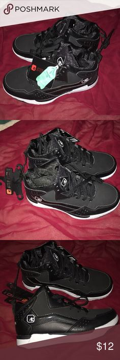 7cc9d4efa7be New AND1 boys black basketball shoes. Size 3 Boys Black AND1 shoes. Brand  new
