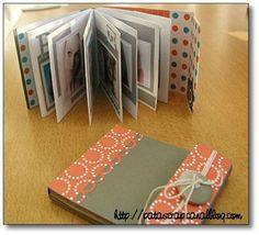 patascrap - Page 6 - patascrap Scrapbooking Mini Album, Scrapbooking Technique, Diy Scrapbook, Mini Album Scrap, Baby Mini Album, Minis, Accordion Book, Fabric Journals, Diy Notebook