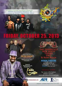 Music 4 The Soul Hosted by Eddie Griffin - Friday, October 25, 2013