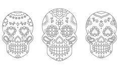 Mexican skulls - Daniel Requena