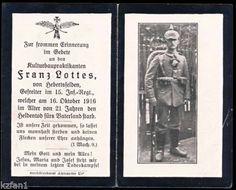 WW1-GERMAN-INFANTRY-CORPORAL-DEATH-CARD-STERBEBILD-KILLED-1916