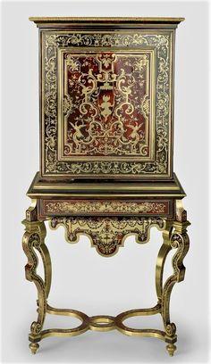 Antique French Furniture, European Furniture, Arabesque, Bronze Mirror, Homemade Home Decor, Antique Boxes, Miniature Crafts, Iron Work, Cool Chairs