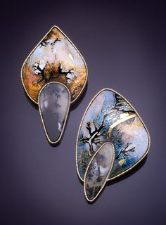 Stone earrings. For more follow www.pinterest.com/ninayay and stay positively #pinspired #pinspire @ninayay