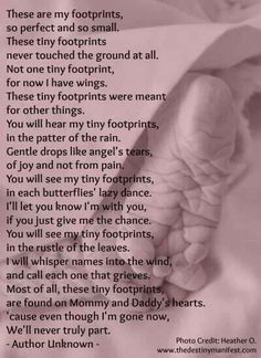 Tiny footprints