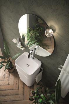 15 Ideas For Bath Room Ideas Modern Shower Tubs Modern Bathrooms Interior, Contemporary Bathroom Designs, Modern Bathroom Decor, Bathroom Trends, Bathroom Wall Decor, Bathroom Ideas, Scandinavian Bathroom, Bathroom Mirrors, Bathroom Organization