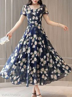 Neck Floral Printed Maxi Dress Shop Round Neck Floral Printed Maxi Dress online with high quality and hurry to get fashion on quickly.Shop Round Neck Floral Printed Maxi Dress online with high quality and hurry to get fashion on quickly.