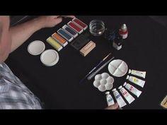 """""""How To Buy Calligraphy Ink"""" Подробнейший видеокурс по каллиграфии от известного каллиграфа Veiko Kespersaks. Он работает в Лондонской студии каллиграфии Calligraphy Lettering и является одним из ведущих специалистов в своей области."""