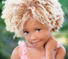 Natural blonde! super cute :)