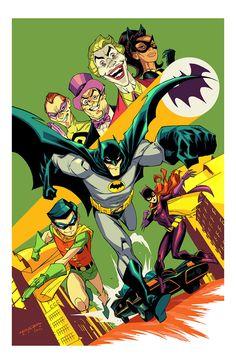 gothamart:   1966 Batman by E-Mann     * - Art Vault