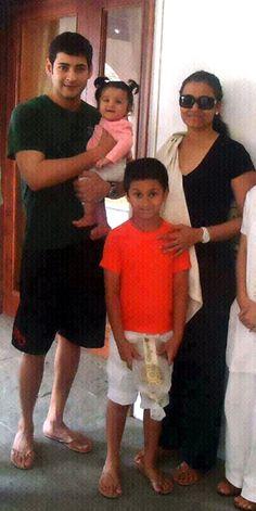 Mahesh Babu Family......!
