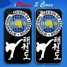 International Taekwondo Federation ITF Logo Custom iPhone 5 Case Cover