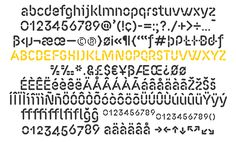 Fluo — Font — AinsiFont — Digital Foundry