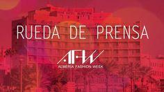Rueda de prensa; Almería Fashion Week